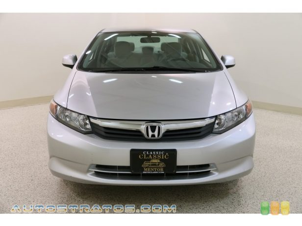 2012 Honda Civic LX Sedan 1.8 Liter SOHC 16-Valve i-VTEC 4 Cylinder 5 Speed Automatic