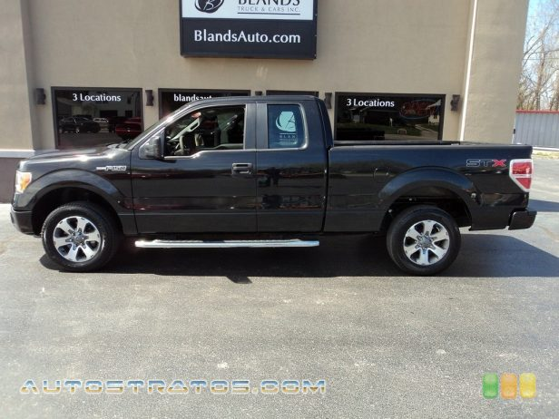 2011 Ford F150 STX SuperCab 3.7 Liter Flex-Fuel DOHC 24-Valve Ti-VCT V6 6 Speed Automatic