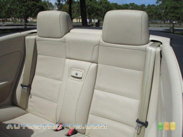2009 Volkswagen Eos Komfort 2.0 Liter FSI Turbocharged DOHC 16-Valve 4 Cylinder 6 Speed DSG Double-Clutch Automatic
