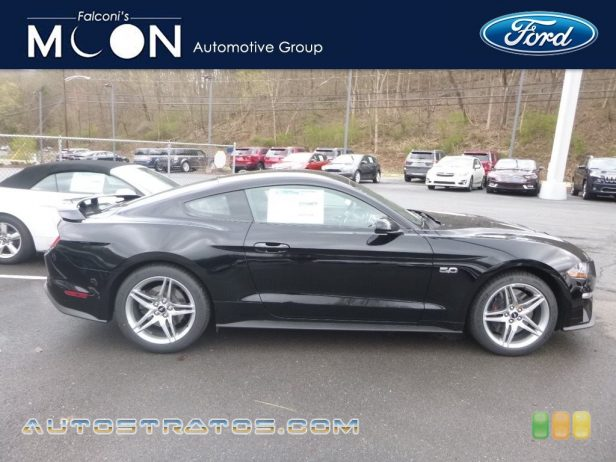 2019 Ford Mustang GT Fastback 5.0 Liter DOHC 32-Valve Ti-VCT V8 6 Speed Manual
