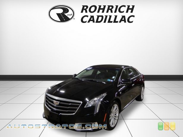 2019 Cadillac XTS Luxury 3.6 Liter DI DOHC 24-Valve VVT V6 6 Speed Automatic