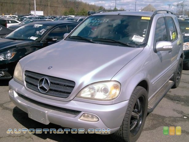 2004 Mercedes-Benz ML 350 4Matic 3.7L SOHC 18V V6 5 Speed Automatic