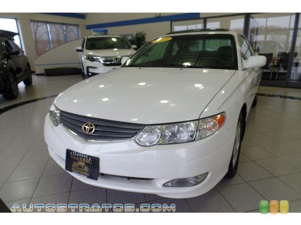 2003 Toyota Solara SLE V6 Coupe 3.0 Liter DOHC 24-Valve V6 4 Speed Automatic