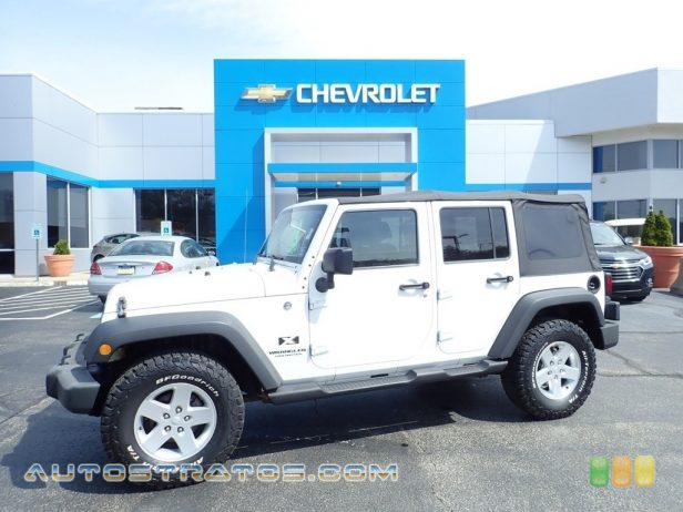 2009 Jeep Wrangler Unlimited X 4x4 3.8 Liter OHV 12-Valve V6 4 Speed Automatic