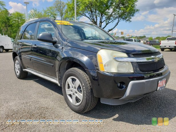 2005 Chevrolet Equinox LS AWD 3.4 Liter OHV 12-Valve V6 5 Speed Automatic
