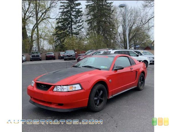 2004 Ford Mustang V6 Coupe 3.8 Liter OHV 12-Valve V6 4 Speed Automatic