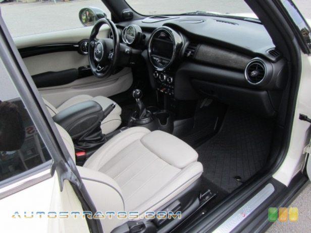 2015 Mini Cooper S Hardtop 2 Door 2.0 Liter TwinPower Turbocharged DOHC 16-Valve VVT 4 Cylinder 6 Speed Manual