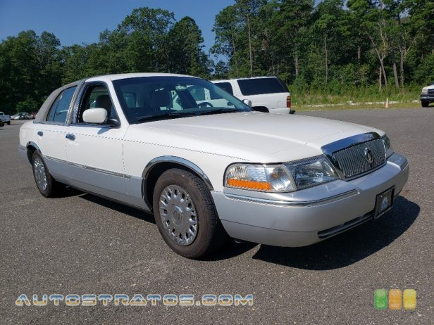 2003 Mercury Grand Marquis GS 4.6 Liter SOHC 16-Valve V8 4 Speed Automatic