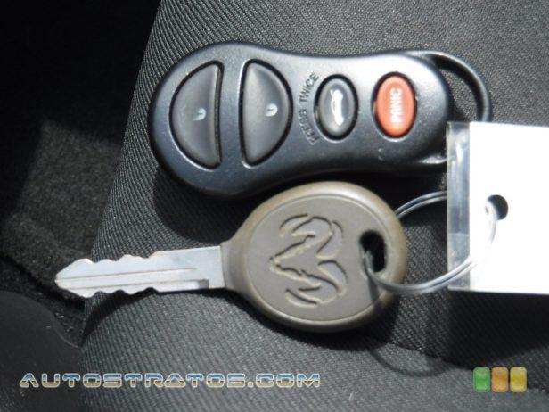 2005 Dodge Neon SXT 2.0 Liter SOHC 16-Valve 4 Cylinder 4 Speed Automatic