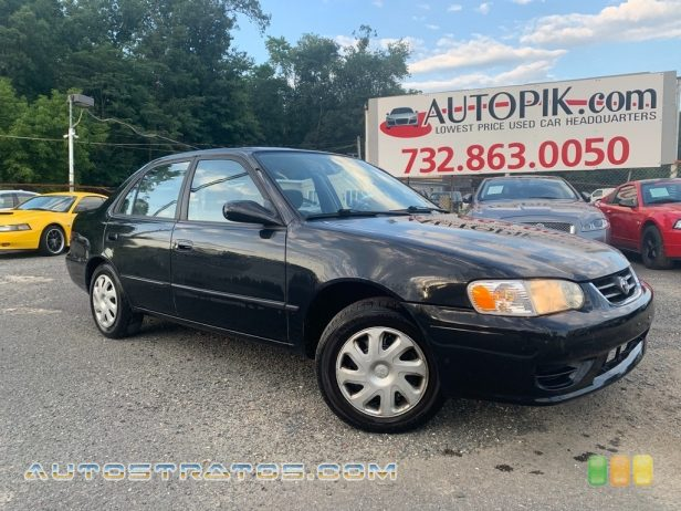 2001 Toyota Corolla LE 1.8 Liter DOHC 16-Valve VVT-i 4 Cylinder 4 Speed Automatic