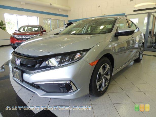 2019 Honda Civic LX Sedan 2.0 Liter DOHC 16-Valve i-VTEC 4 Cylinder CVT Automatic