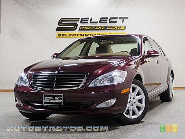 2007 Mercedes-Benz S 550 4Matic Sedan 5.5 Liter DOHC 32-Valve V8 7 Speed Automatic