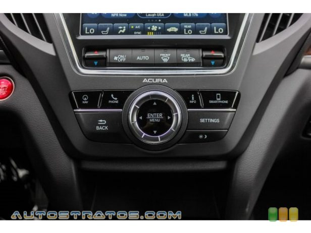 2019 Acura MDX Technology 3.5 Liter SOHC 24-Valve i-VTEC V6 9 Speed Automatic