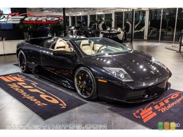 2005 Lamborghini Murcielago Roadster 6.2 Liter DOHC 48-Valve VVT V12 6 Speed E-Gear