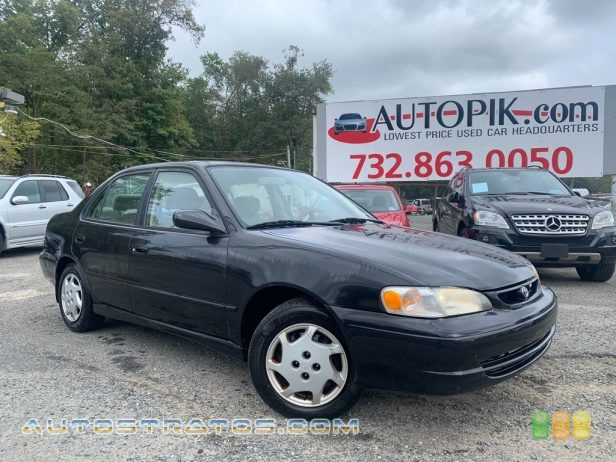 1999 Toyota Corolla LE 1.8 Liter DOHC 16-Valve 4 Cylinder 3 Speed Automatic