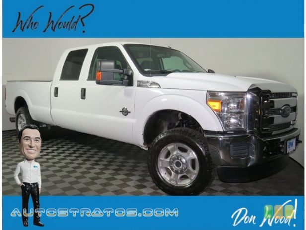 2016 Ford F250 Super Duty XLT Crew Cab 4x4 6.7 Liter Power Stroke OHV 32-Valve Turbo-Diesel V8 6 Speed SelectShift Automatic