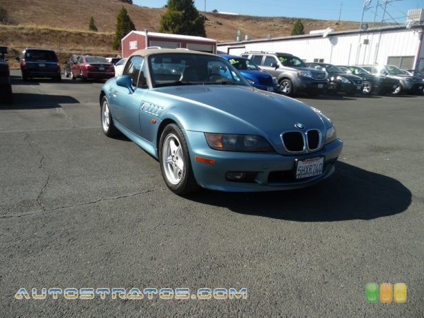1997 BMW Z3 1.9 Roadster 1.9 Liter DOHC 16V Inline 4 Cylinder 4 Speed Automatic