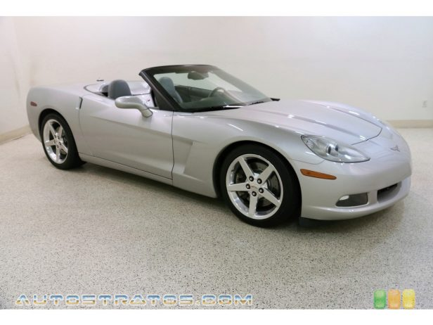 2005 Chevrolet Corvette Convertible 6.0 Liter OHV 16-Valve LS2 V8 6 Speed Manual