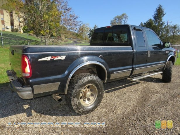 1999 Ford F250 Super Duty Lariat Extended Cab 4x4 7.3 Liter OHV 16-Valve Power Stroke Turbo diesel V8 4 Speed Automatic