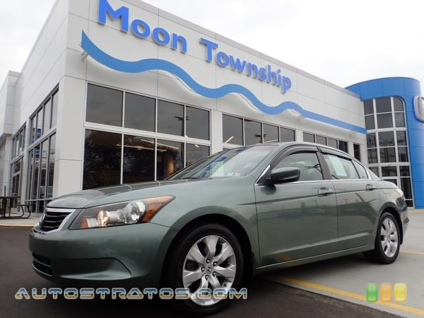 2009 Honda Accord EX Sedan 2.4 Liter DOHC 16-Valve i-VTEC 4 Cylinder 5 Speed Automatic