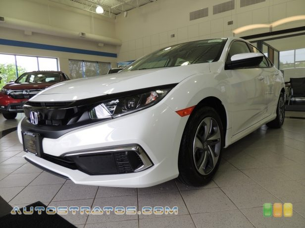 2020 Honda Civic LX Sedan 2.0 Liter DOHC 16-Valve i-VTEC 4 Cylinder CVT Automatic