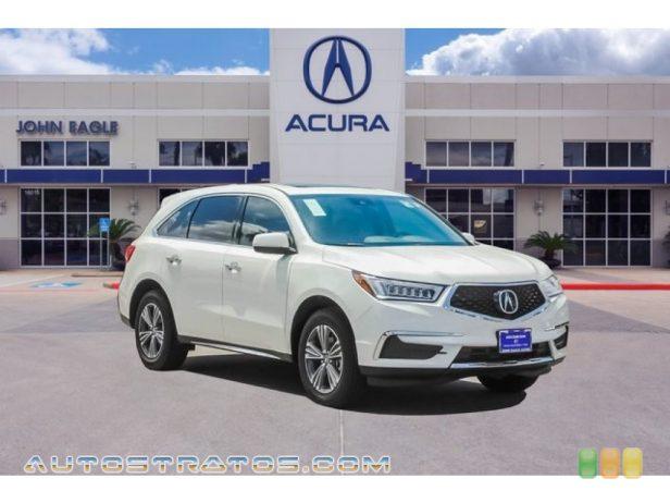 2020 Acura MDX FWD 3.5 Liter SOHC 24-Valve i-VTEC V6 9 Speed Automatic