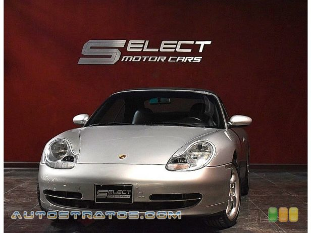 2000 Porsche 911 Carrera 4 Cabriolet 3.4 Liter DOHC 24V VarioCam Flat 6 Cylinder 6 Speed Manual