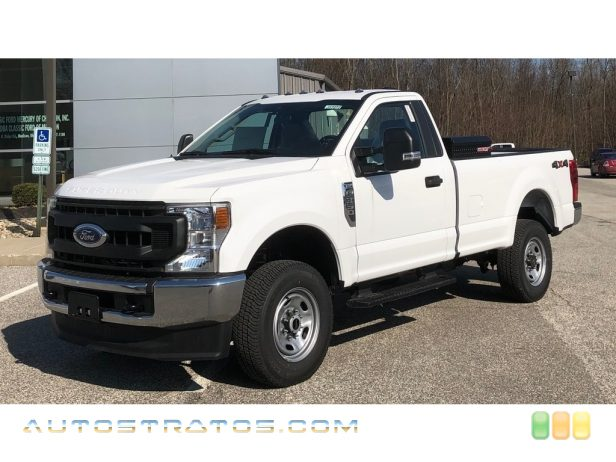 2020 Ford F350 Super Duty XL Regular Cab 4x4 6.2 Liter SOHC 16-Valve Flex-Fuel V8 10 Speed Automatic