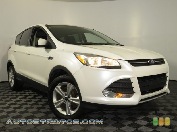 2015 Ford Escape SE 4WD 1.6 Liter EcoBoost DI Turbocharged DOHC 16-Valve Ti-VCT 4 Cylind 6 Speed SelectShift Automatic