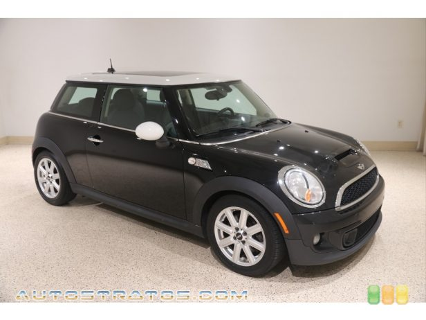 2013 Mini Cooper S Hardtop 1.6 Liter DI Twin-Scroll Turbocharged DOHC 16-Valve VVT 4 Cylind 6 Speed Steptronic Automatic