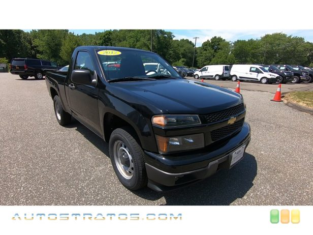2012 Chevrolet Colorado Work Truck Regular Cab 2.9 Liter DOHC 16-Valve Vortec 4 Cylinder 4 Speed Automatic