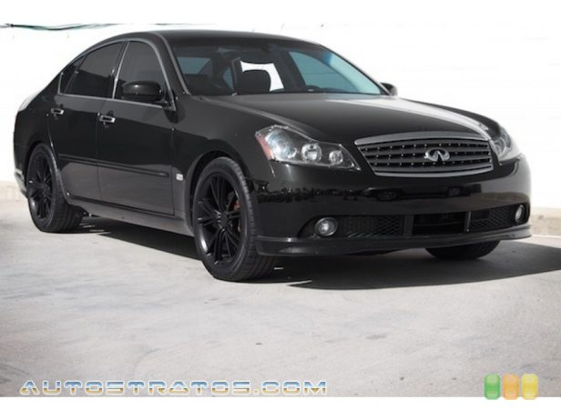 2006 Infiniti M 45 Sedan 4.5 Liter DOHC 32 Valve VVT V8 5 Speed Automatic