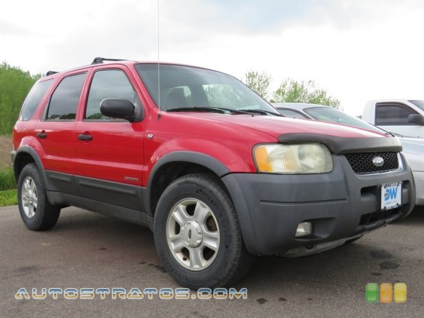 2002 Ford Escape XLT V6 4WD 3.0 Liter DOHC 24-Valve V6 4 Speed Automatic