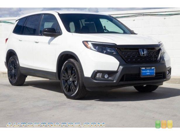 2020 Honda Passport Sport 3.5 Liter SOHC 24-Valve i-VTEC V6 9 Speed Automatic