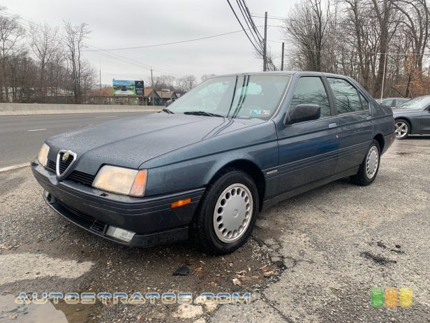1991 Alfa Romeo 164 Sedan 3.0 Liter OHV 12-Valve V6 5 Speed Manual