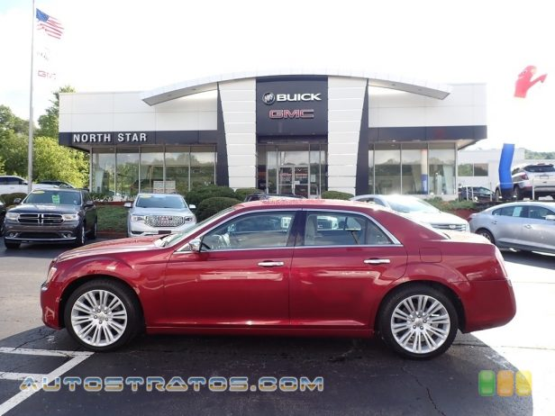 2012 Chrysler 300 Limited 3.6 Liter DOHC 24-Valve VVT Pentastar V6 8 Speed Automatic