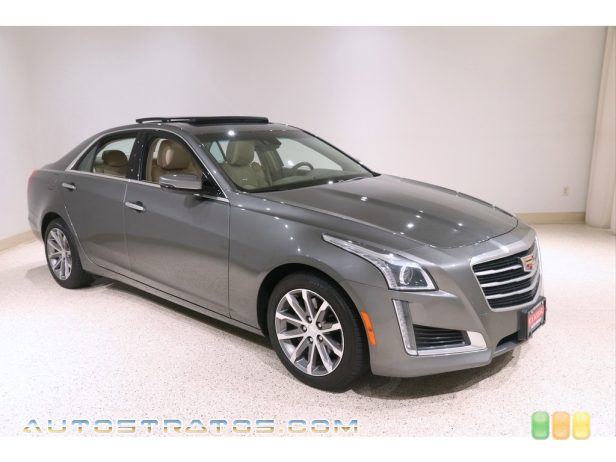 2016 Cadillac CTS 2.0T Luxury AWD Sedan 2.0 Liter DI Turbocharged DOHC 16-Valve VVT 4 Cylinder 8 Speed Automatic