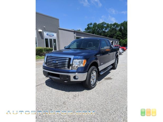 2011 Ford F150 XLT SuperCab 4x4 3.5 Liter GTDI EcoBoost Twin-Turbocharged DOHC 24-Valve VVT V6 6 Speed Automatic
