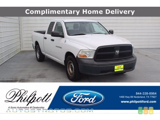 2012 Dodge Ram 1500 ST Quad Cab 3.7 Liter SOHC 12-Valve V6 4 Speed Automatic