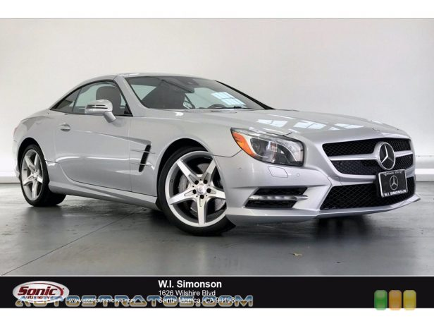 2013 Mercedes-Benz SL 550 Roadster 4.6 Liter DI Twin-Turbocharged DOHC 32-Valve VVT V8 7 Speed Automatic