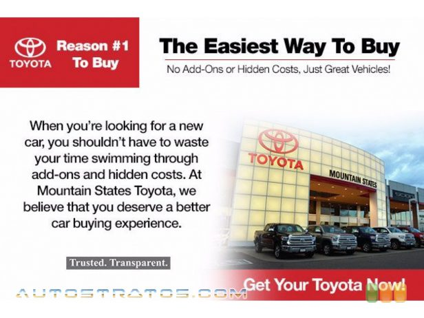 2012 Toyota Highlander Limited 4WD 3.5 Liter DOHC 24-Valve Dual VVT-i V6 5 Speed ECT-i Automatic