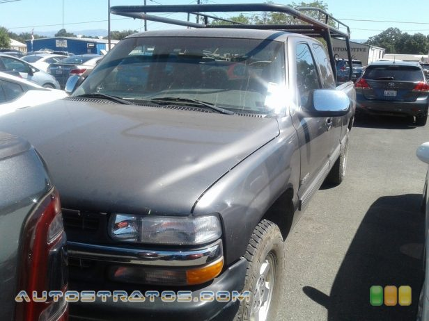 1999 Chevrolet Silverado 1500 LT Extended Cab 4x4 5.3 Liter OHV 16-Valve V8 4 Speed Automatic