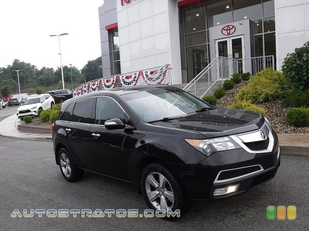 2011 Acura MDX Technology 3.7 Liter SOHC 24-Valve VTEC V6 6 Speed Sequential SportShift Automatic