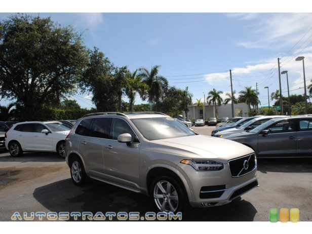 2018 Volvo XC90 T6 AWD Momentum 2.0 Liter Turbocharged/Supercharged DOHC 16-Valve VVT 4 Cylinder 8 Speed Automatic