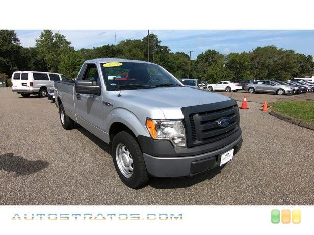 2012 Ford F150 XL Regular Cab 3.7 Liter Flex-Fuel DOHC 24-Valve Ti-VCT V6 6 Speed Automatic