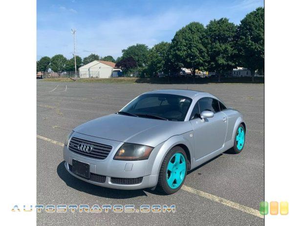 2001 Audi TT 1.8T quattro Coupe 1.8 Liter Turbocharged DOHC 20-Valve 4 Cylinder 6 Speed Manual