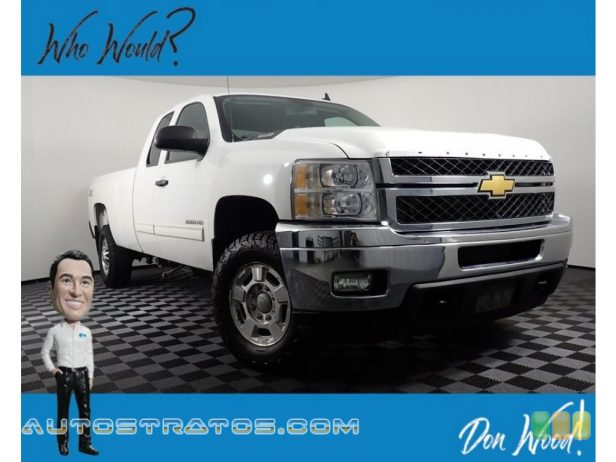 2012 Chevrolet Silverado 2500HD LT Extended Cab 4x4 6.0 Liter OHV 16-Valve VVT Flex-Fuel Vortec V8 6 Speed Automatic