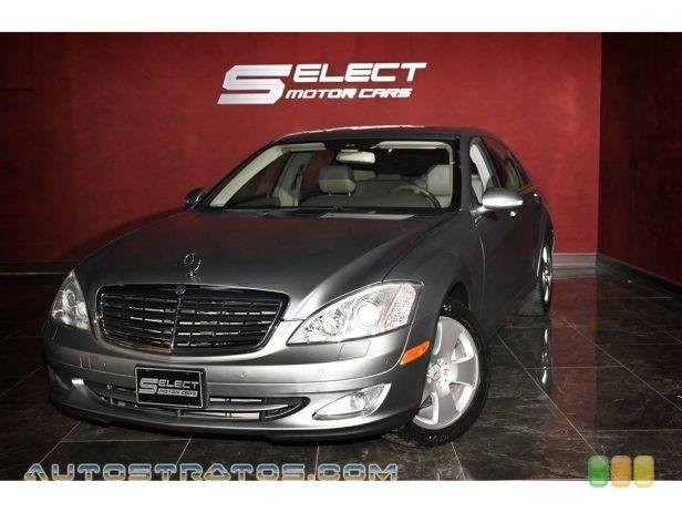 2007 Mercedes-Benz S 550 Sedan 5.5 Liter DOHC 32-Valve V8 7 Speed Automatic