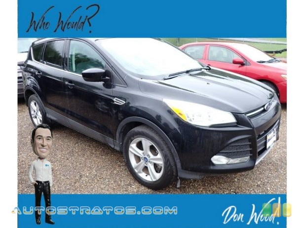 2014 Ford Escape SE 1.6L EcoBoost 4WD 1.6 Liter GTDI Turbocharged DOHC 16-Valve Ti-VCT EcoBoost 4 Cyli 6 Speed SelectShift Automatic