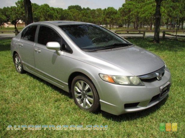 2011 Honda Civic EX Sedan 1.8 Liter SOHC 16-Valve i-VTEC 4 Cylinder 5 Speed Automatic